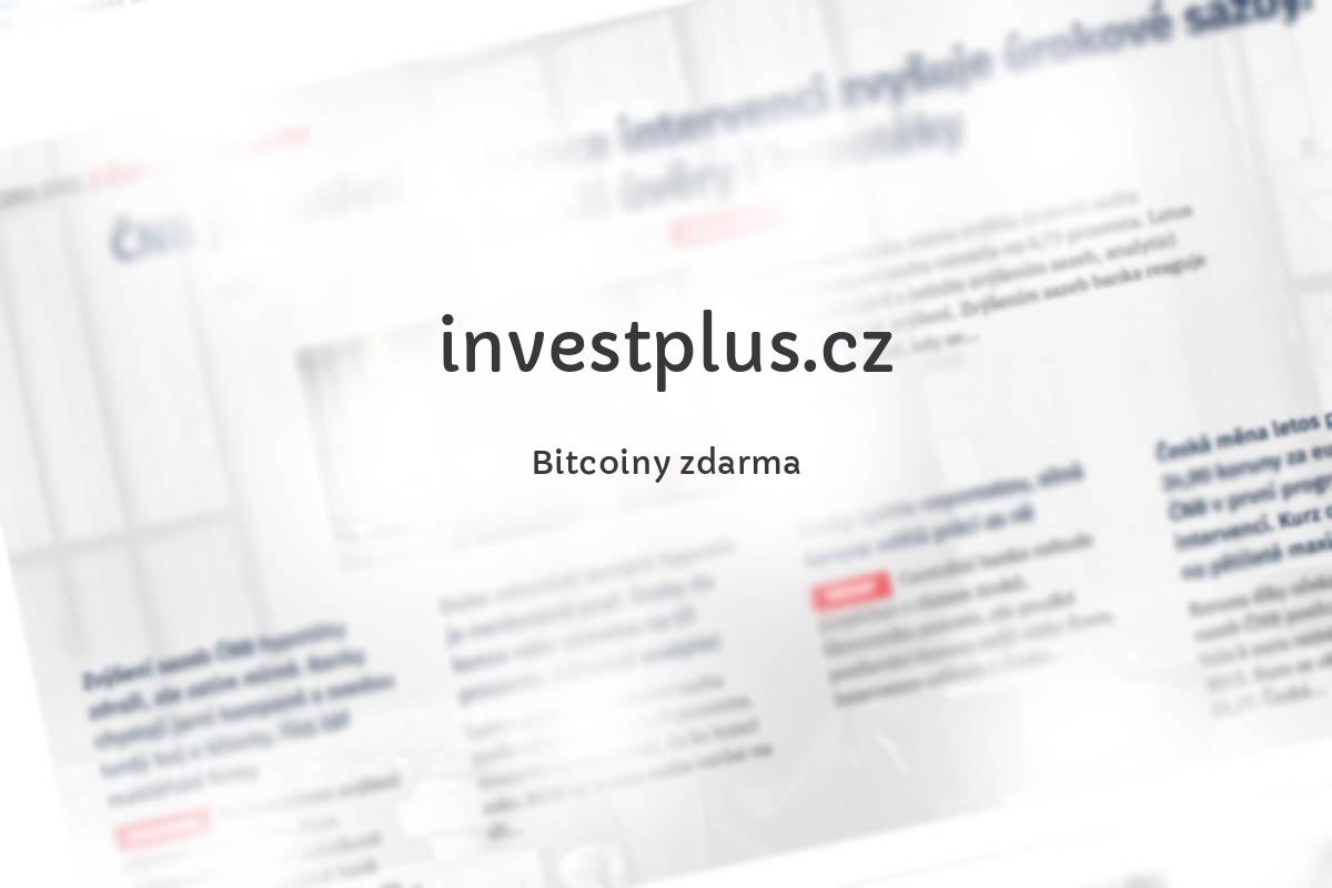 Bitcoiny zdarma
