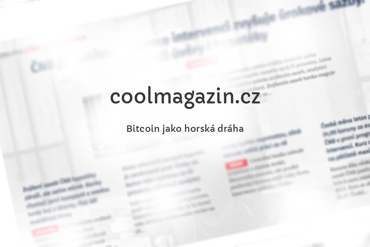 Bitcoin jako horská dráha